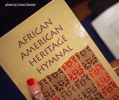 Photo of African American Heritage Hymnal book