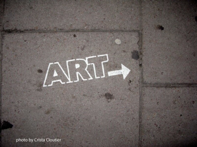 Photo of art graffiti