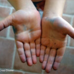 a child's open hands
