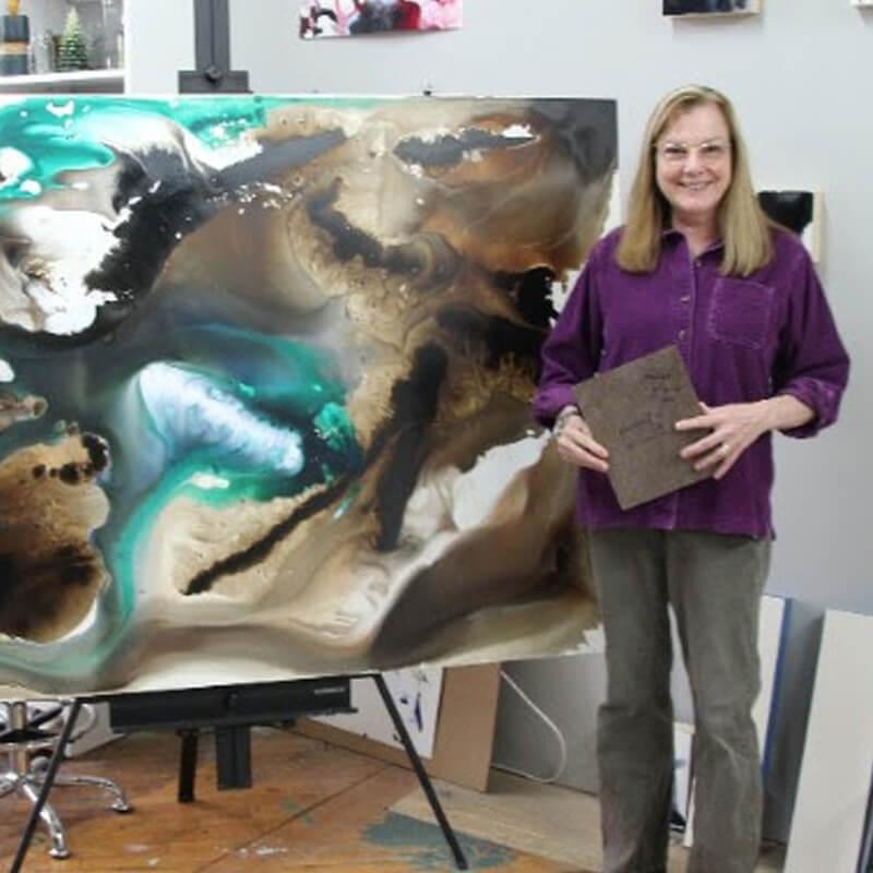 Artist Jeannie Motherwell