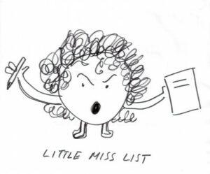 Illustration of Little Miss List