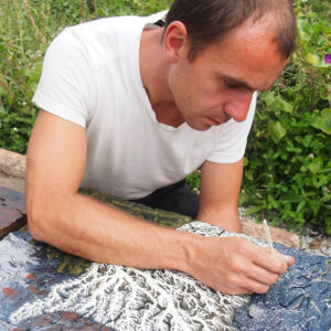 Portrait of Artist Tsvetomir Iliev