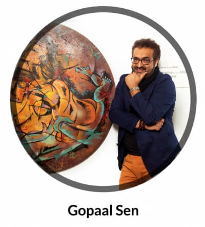 Artist Gopal Sen