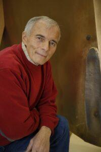 Portrait of Artist Wayne Brungard