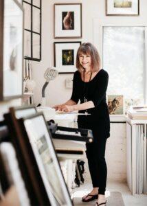 Portrait of Artist Wendi Schneider