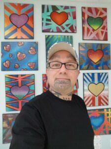 Portrait of Artist Parker Beaudoin