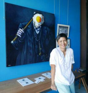 Portrait of Artist Ta Thimkaeo