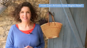 """Crista Cloutier's Video on """"How Can Artists Give Right Now?"""""""