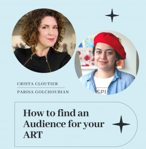 How to find an audience for your art